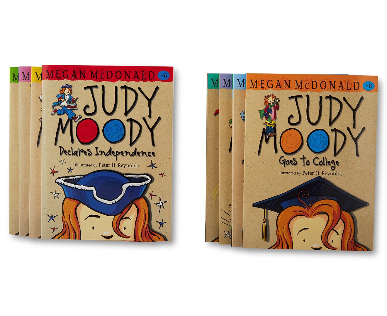 Judy Moody Best Ever Collection: 8 Book Box Set By Megan McDonald