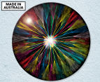 Dandelion Feathers 59cm Acrylic Glass Wall Art 1