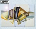 Geometric Fish 59x40cm Acrylic Glass Wall Art 1