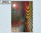 Zebra Lines 59x40cm Acrylic Glass Wall Art 1