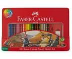 Faber-Castell 48 Classic Colour Pencil Sketch Set 5