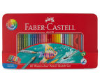 Faber-Castell 60 Watercolour Pencil Sketch Set 5