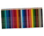 Faber-Castell 48 Classic Colour Pencils + Magical Cities Colouring Book Bundle 3