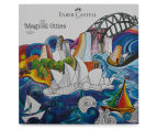 Faber-Castell 48 Classic Colour Pencils + Magical Cities Colouring Book Bundle 4