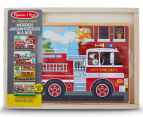 Melissa & Doug Vehicles Puzzle In A Box 1