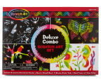 Melissa & Doug Deluxe Combo Scratch Art Set 1