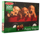 Melissa & Doug Puppy Wagon Jigsaw Puzzle 2
