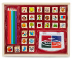 Melissa & Doug Favourite Things Wooden Stamp Set  2