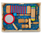 Melissa & Doug Band-In-A-Box - Drum! Click! Clack! Instruments 2