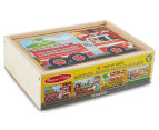 Melissa & Doug Vehicles Puzzle In A Box 4