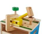 Melissa & Doug Mini Hammer & Saw Tool Bench Playset 6