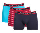 Tommy Hilfiger Men's Cotton Stretch Boxer Brief 3-Pack - Multi 1