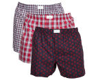 Tommy Hilfiger Men's Woven Boxer 3-Pack - Multi 1