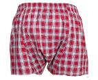 Tommy Hilfiger Men's Woven Boxer 3-Pack - Multi 3
