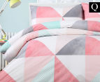 Belmondo Home Tasha Queen Bed Quilt Cover Set - Multi 1