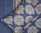 Belmondo Home Cumbria Double Bed Quilt Cover Set - Blue 5
