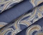 Belmondo Home Cumbria Single Bed Quilt Cover Set - Blue 3