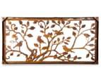 Laser-Cut Rust Tree Of Life Bird Wall Art - Bronze  5