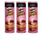 3 x Pringles Sweet Chilli Wedges 150g 1