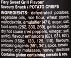 3 x Pringles Xtra Fiery Sweet Grill 140g 2
