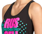 Russell Athletic Women's Campus Wave Tank - Black 6
