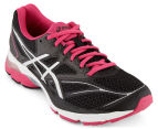 ASICS Women's Gel-Pulse 8 Running Shoes - Black/Silver/Sport Pink 2