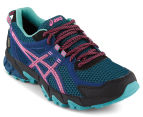 ASICS Women's Gel-Sonoma 2 G-TX Running Shoe - Poseidon/Hot Pink/Kingfisher  2