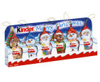 13 x Kinder Christmas Figurines 90g 2