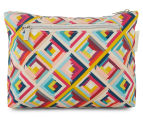 Tonic Terrace Pink Large Cosmetic Bag - Multi  1
