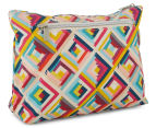 Tonic Terrace Pink Large Cosmetic Bag - Multi  2
