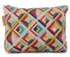 Tonic Terrace Pink Large Cosmetic Bag - Multi  3