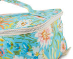 Tonic Field Turquoise Large Make-Up Bag - Multi  5