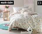 Marie Claire Mini By Linen House Cecile Double Bed Quilt Cover Set - Multi  1