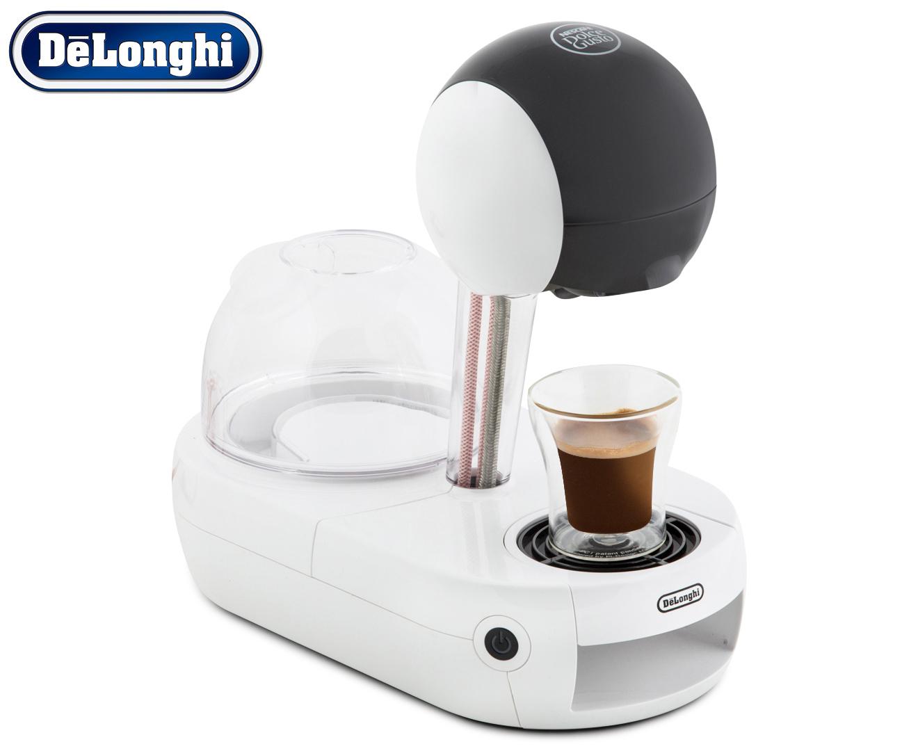 Delonghi Coffee Makers Nescafe Dolce G : CatchOfTheDay.com.au DeLonghi Nescafe Dolce Gusto Coffee Machine - White