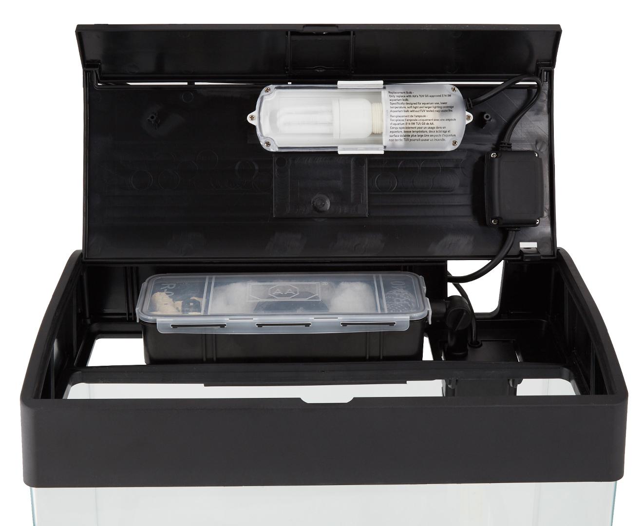 Fish tank zippay - Catchoftheday Com Au Vitapet Ezistart 35l Complete Glass Freshwater Fish Tank Kit