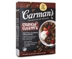 2 x Carman's Crunch Clusters Dark Choc, Cranberry & Roasted Nut 500g 2