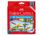 Faber-Castell 48 Watercolour Pencil & Sharpener Set 1