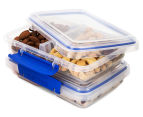 Sistema Klip It Split Container 5-Pack - Clear/Blue 4