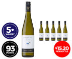 6 x Thorn Clarke Sandpiper Eden Valley Riesling 2015 750mL 1