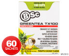 BSc Green Tea TX100 Probiotic Fat Burner Pineapple Coconut 60pk 1