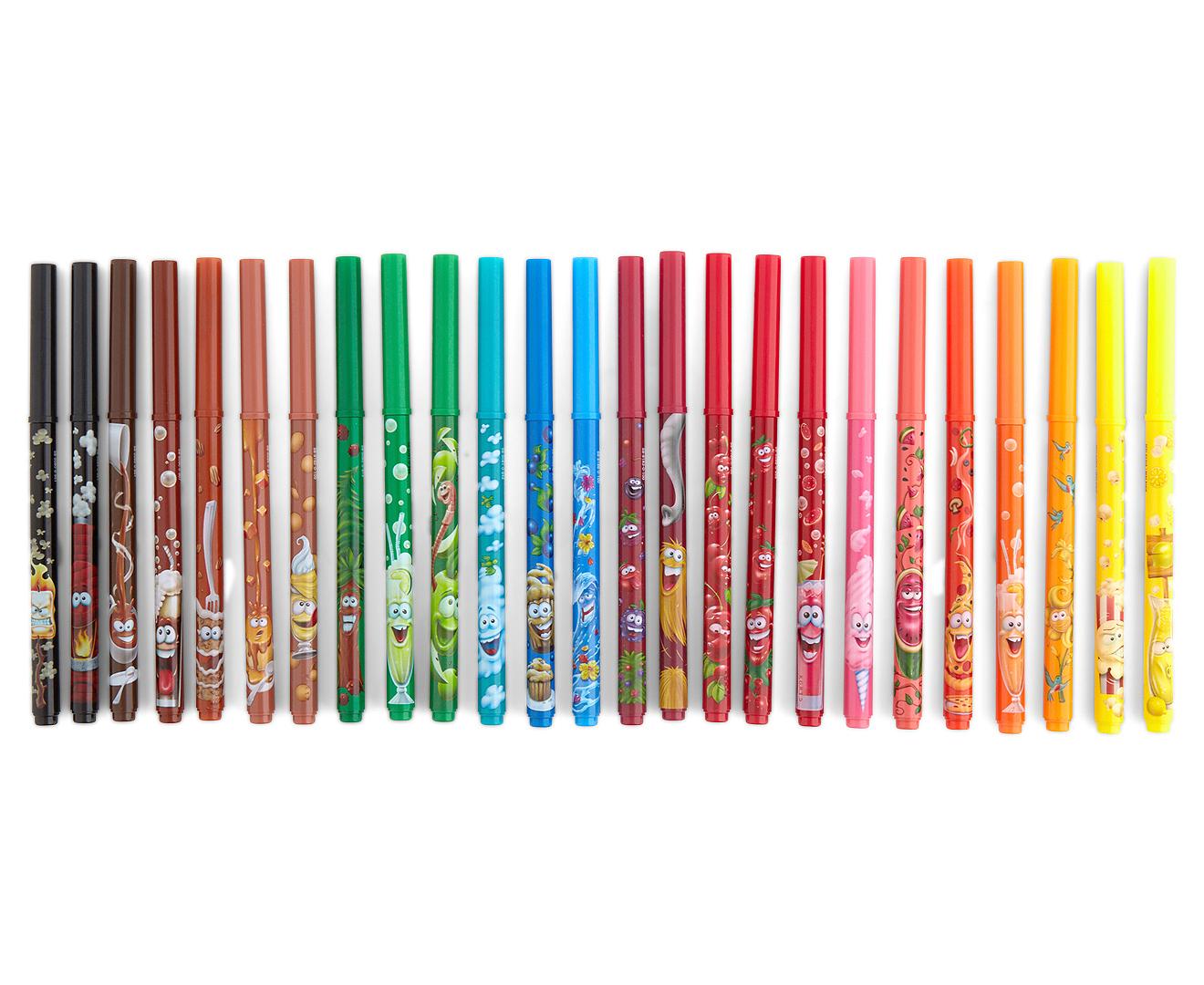Catchoftheday Com Au Crayola Doodle Scent Markets 25pk