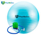 PharMeDoc Exercise Ball w/ Pump - Teal 1