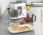 Kenwood MultiOne Kitchen Food Processor & Mixer - White 5