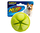 "NERF Dog 2.5"" Turtle Squeaker Ball - Green 1"