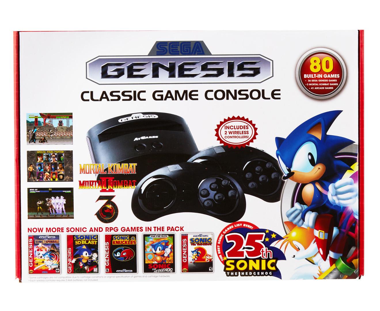 Scoopon shopping sega genesis classic game console w 80 - Sega genesis classic game console game list ...