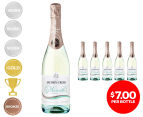 6 x Jacob's Creek Classic Sparkling Moscato NV 750mL 1