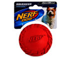 NERF Dog Medium Tyre Squeaker - Red 1