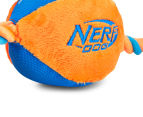 NERF Dog Medium Tuff Tug Plush Toy - Orange/Blue 2