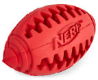 2 x NERF Dog Small Football Teether - Red 2
