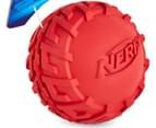 NERF Dog Medium Tyre Squeaker - Red 2